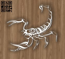 Scorpio zodiac E0010692 file cdr and dxf free vector download for laser engraving machines