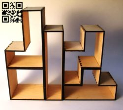 Shelf E0010744 file cdr and dxf free vector download for Laser cut