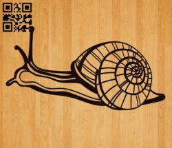 Snail E0010605 file cdr and dxf free vector download for laser engraving machines