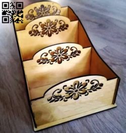 Spice box E0010671 file cdr and dxf free vector download for Laser cut