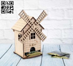 Tea house E0010790 file cdr and dxf free vector download for laser cut