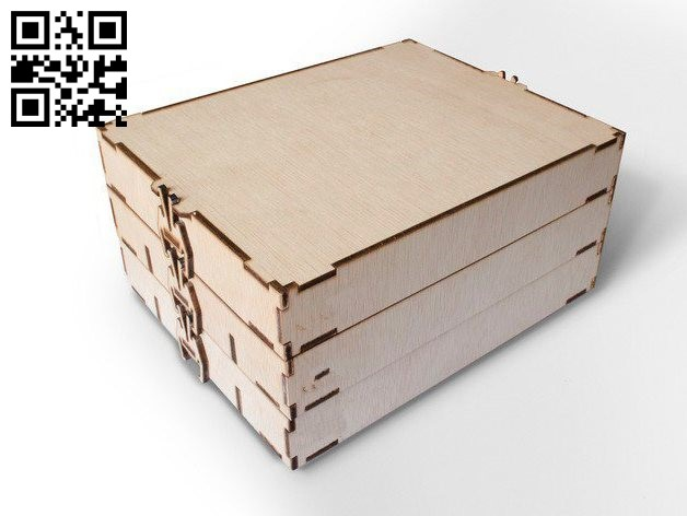 Tool box E0010647 file cdr and dxf free vector download for Laser cut