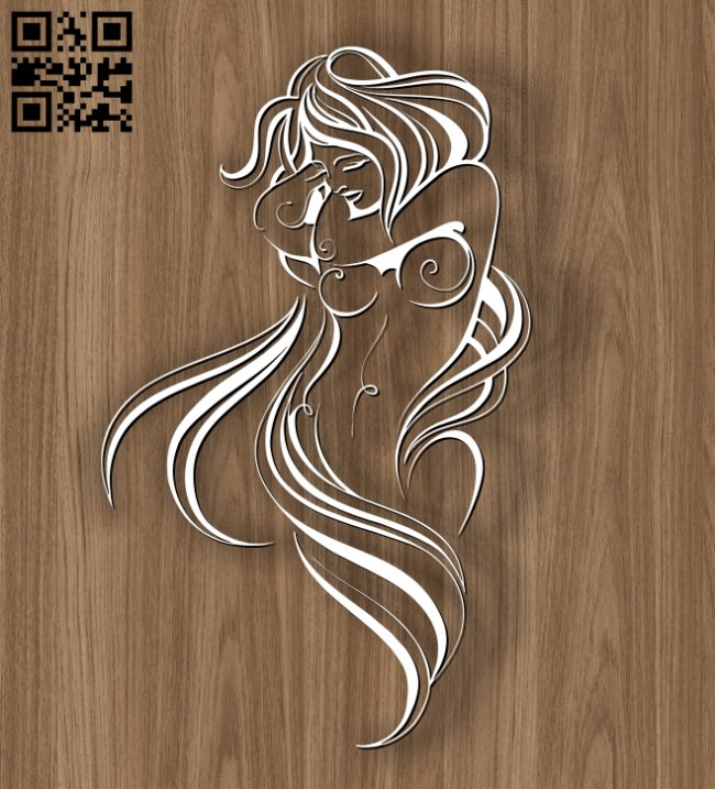 Virgo zodiac E0010691 file cdr and dxf free vector download for laser engraving machines