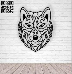 Wolf temme E0010783 file cdr and dxf free vector download for laser cut