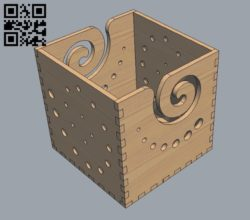 Wool holder E0010706 file cdr and dxf free vector download for laser cut