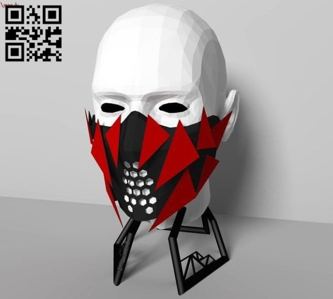 3D Mask E0010970 file cdr and dxf free vector download for ...