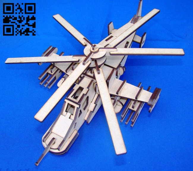 Armada helicopter E0010923 file cdr and dxf free vector download for Laser cut
