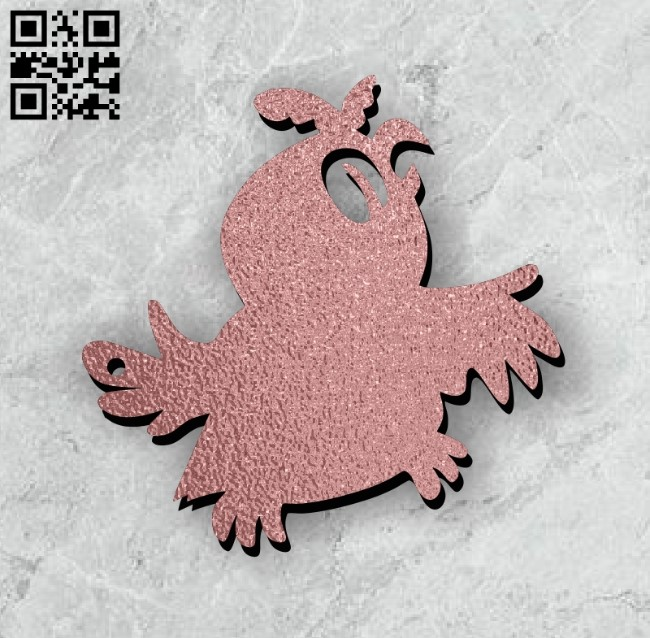 Bird E0011214 file cdr and dxf free vector download for Laser cut