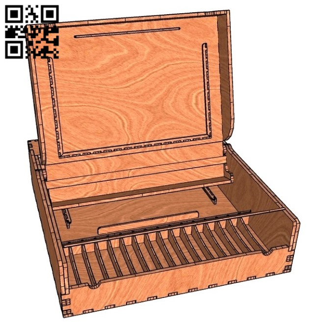 Box E0011329 file cdr and dxf free vector download for laser cut
