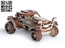 Car E0011117  file cdr and dxf free vector download for Laser cut