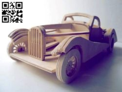 Carro car E0011166 file cdr and dxf free vector download for Laser cut