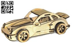 Carro sport car E0011168 file cdr and dxf free vector download for Laser cut