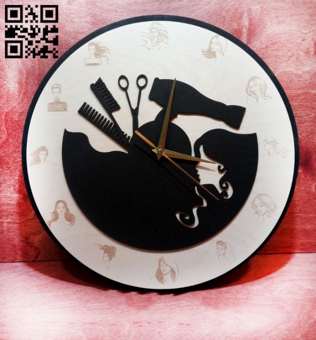 Clock work E0011086 file cdr and dxf free vector download for laser cut