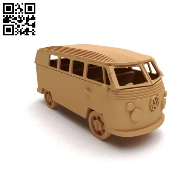 Combi car E0011304 file cdr and dxf free vector download for laser cut