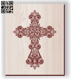 Cross E0011190 file cdr and dxf free vector download for laser engraving machines