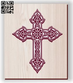 Cross E0011191 file cdr and dxf free vector download for laser engraving machines