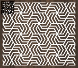 Design pattern screen panel E0011133 file cdr and dxf free vector download for Laser cut cnc