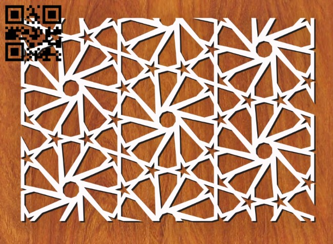 Design pattern screen panel E0011138 file cdr and dxf free vector download for Laser cut cnc