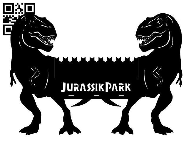 Dinosaur BBQ grill E0011009 file cdr and dxf free vector download for Laser cut Plasma