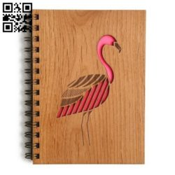Flamingo E0011053 file cdr and dxf free vector download for Laser cut