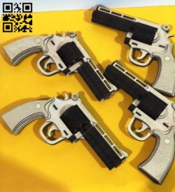Gun E0011177 file cdr and dxf free vector download for laser cut