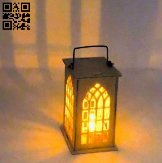 Lantern E0011005 file cdr and dxf free vector download for Laser cut