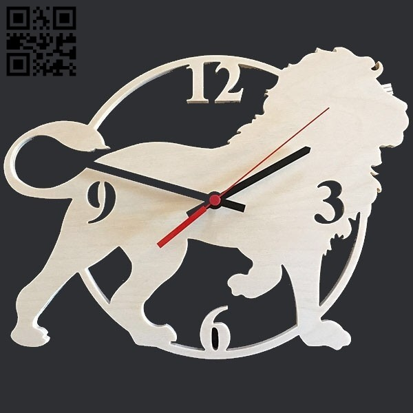 Lion E0011141 file cdr and dxf free vector download for Laser cut