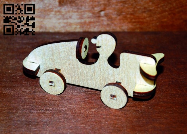 Man in the car E0011244 file cdr and dxf free vector download for Laser cut