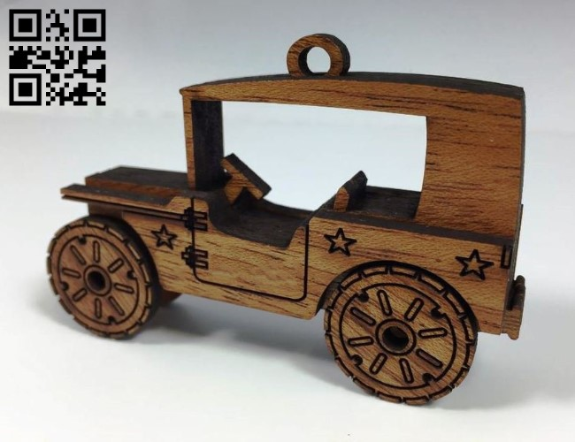 Mini Truck E0011332 file cdr and dxf free vector download for Laser cut