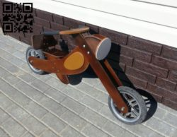 Motorcycle E0011146 file cdr and dxf free vector download for laser cut