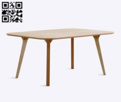 Open desk E0011089 file cdr and dxf free vector download for Laser cut