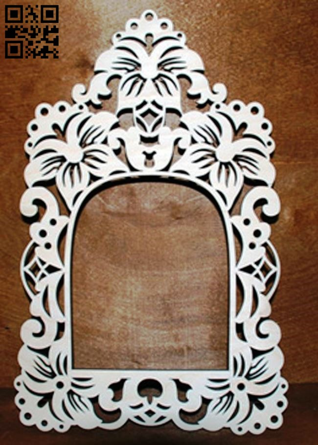 Photo frame E0011107 file cdr and dxf free vector download for Laser cut