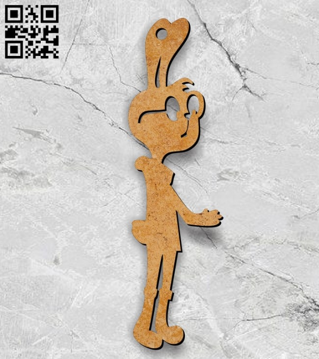 Rabbit E0011215 file cdr and dxf free vector download for Laser cut
