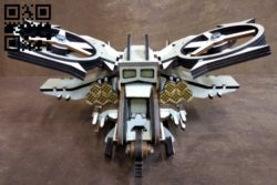 Scorpion Helicopter Avatar E0011060 file cdr and dxf free vector download for Laser cut