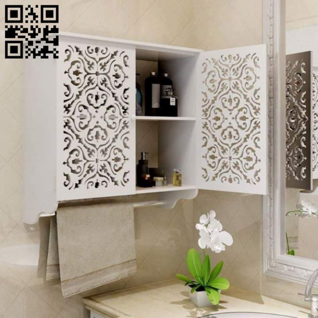 Shelf E0011059 file cdr and dxf free vector download for Laser cut