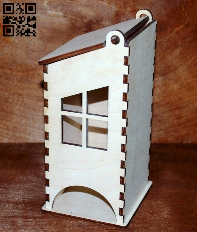 Tea house E0011269 file cdr and dxf free vector download for laser cut