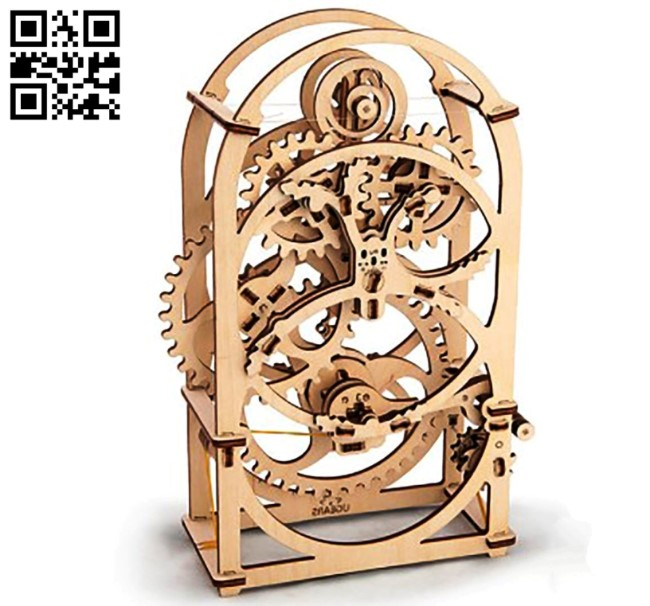 Timer gear E0010989 file cdr and dxf free vector download for Laser cut