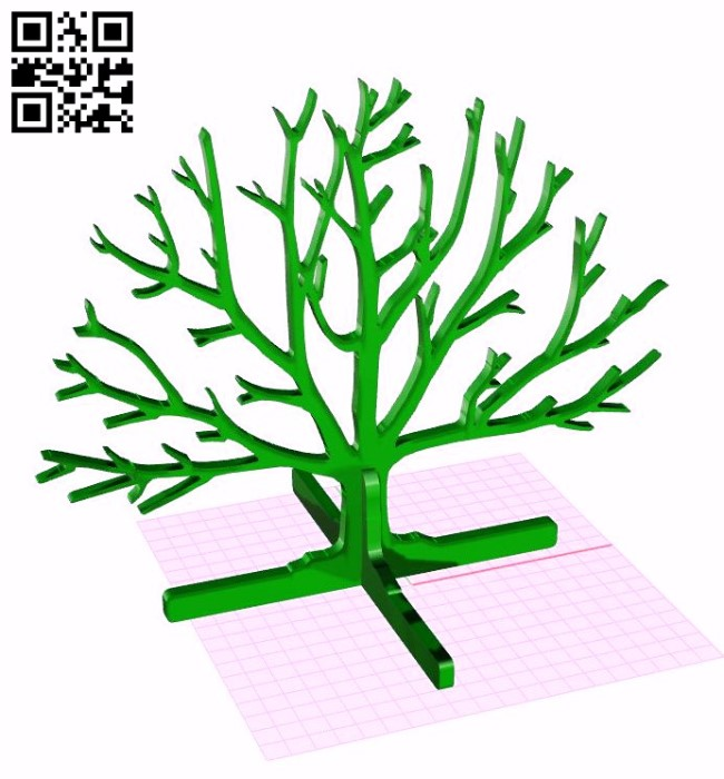Tree Stand E0011267 file cdr and dxf free vector download for laser cut