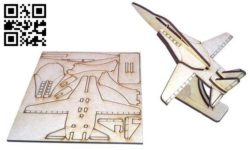 Aircraft F14 E0011559 file cdr and dxf free vector download for Laser cut