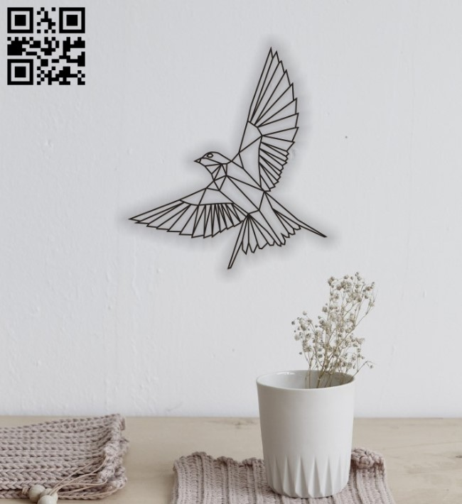 Bird E0011527 file cdr and dxf free vector download for Laser cut