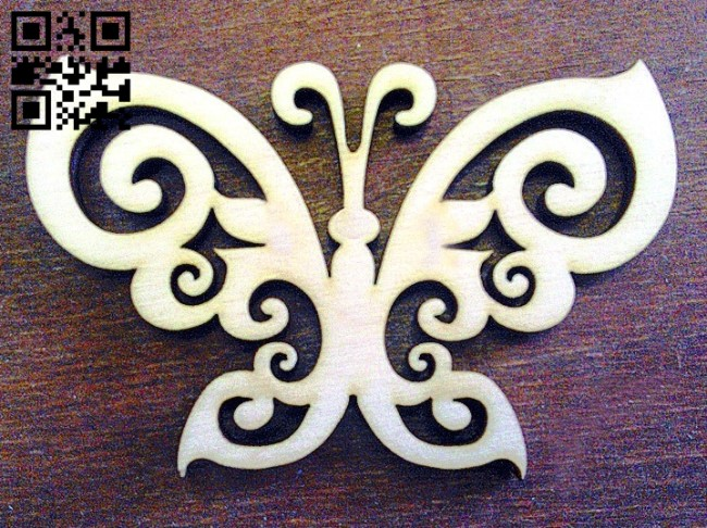 Butterfly E0011485 file cdr and dxf free vector download for Laser cut