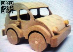 Car E0011381 file cdr and dxf free vector download for Laser cut