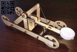 Catapult E0011544 file cdr and dxf free vector download for laser cut