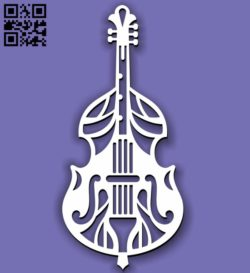 Cello Mandala E0011412 file cdr and dxf free vector download for laser cut