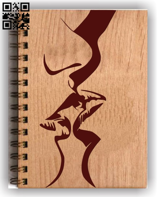 Couple decorated book cover E0011581file cdr and dxf free vector download for laser engraving machines