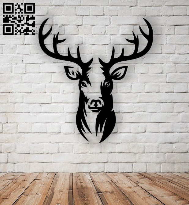 Deer E0011469 file cdr and dxf free vector download for Laser cut