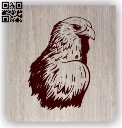Eagle head E0011473 file cdr and dxf free vector download for laser engraving machines