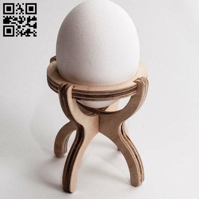 Egg stand E0011624 file cdr and dxf free vector download for Laser cut