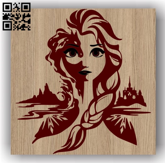 Elsa E0011495 file cdr and dxf free vector download for laser engraving machines