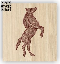 Horse E0011601 file cdr and dxf free vector download for laser engraving machines